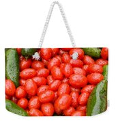 Hot Peppers And Cherry Tomatoes Weekender Tote Bag by James BO  Insogna