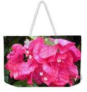 Hot Pink Bougainvillea Weekender Tote Bag