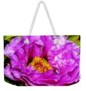 Hot-pink Flower Weekender Tote Bag