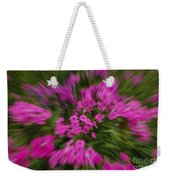 Hot Pink Flower Zoom Weekender Tote Bag