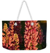 Hot Pink Lupines From My Mother's Garden Weekender Tote Bag