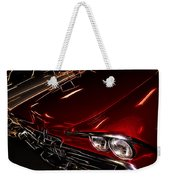 Hot Red Car  Weekender Tote Bag