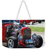 Hot Rod Engine Weekender Tote Bag