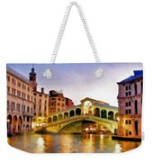 Hot Venetian Nights Weekender Tote Bag