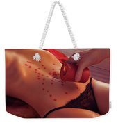 Hot Wax Foreplay Weekender Tote Bag