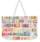 Hot Wheels Square Format Weekender Tote Bag
