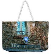 Hotel De La Cite Weekender Tote Bag by France  Art