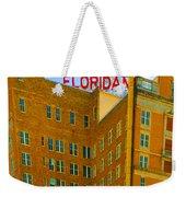 Hotel Floridan Weekender Tote Bag