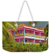Hotel Jamaica Weekender Tote Bag by Linda Bianic
