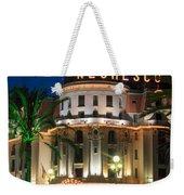 Hotel Negresco By Night Weekender Tote Bag