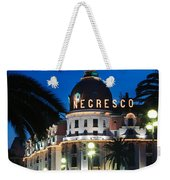 Hotel Negresco Weekender Tote Bag by Inge Johnsson