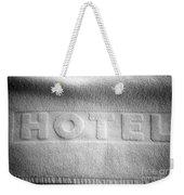 Hotel Towel Weekender Tote Bag