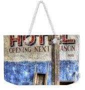 Hotel Yeti Weekender Tote Bag