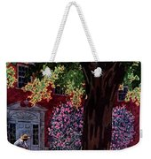 House & Garden Cover Illustration Of A Gardener Weekender Tote Bag