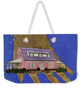 House & Garden Cover Illustration Of A Giant Hand Weekender Tote Bag
