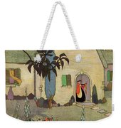 House & Garden Cover Illustration Of An Weekender Tote Bag