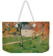 House Among Trees Weekender Tote Bag