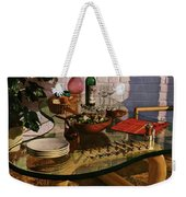 House And Garden Cover Featuring Brunch Weekender Tote Bag