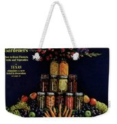 House And Garden Cover Featuring Fruit Weekender Tote Bag