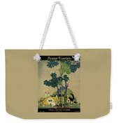 House And Garden Cover Weekender Tote Bag by H. George Brandt