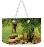 House And Garden Cover Weekender Tote Bag