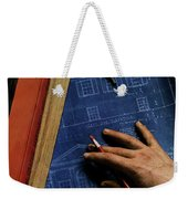 House And Garden Cover Of A Person Weekender Tote Bag