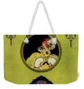 House And Garden Furniture Number Cover Weekender Tote Bag