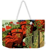 House And Garden Garden Furnishing Number Cover Weekender Tote Bag