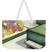 House And Garden Garden Furnishings Number Cover Weekender Tote Bag