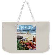 House And Garden Ideas For Summer Issue Cover Weekender Tote Bag