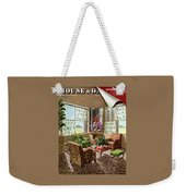 House And Garden Issue About Southern California Weekender Tote Bag