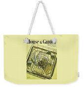 House And Garden Servant Less Living Houses Cover Weekender Tote Bag