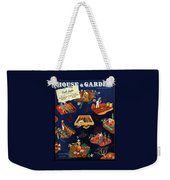 House And Garden The Gardener's Yearbook Cover Weekender Tote Bag