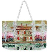House And River Weekender Tote Bag