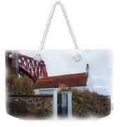 House At The Bridge Weekender Tote Bag