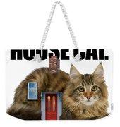 House Cat Weekender Tote Bag