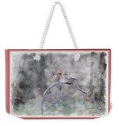 House Finch - Kiss Me Weekender Tote Bag