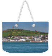 House In A Town, Portaferry Weekender Tote Bag