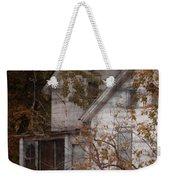 House In Fall Weekender Tote Bag