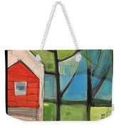 House In The Trees Weekender Tote Bag