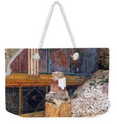 House Of The Silver Wedding, Damaged Weekender Tote Bag