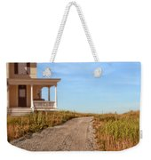 House On Rural Dirt Road Weekender Tote Bag