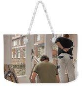 House Painters At Work Weekender Tote Bag