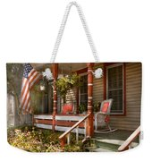 House - Porch - Traditional American Weekender Tote Bag by Mike Savad