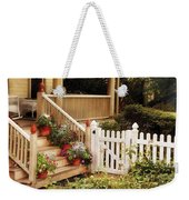 House - Rutherford Nj - My Grandmother's Garden  Weekender Tote Bag