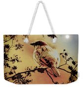 House Sparrow Weekender Tote Bag