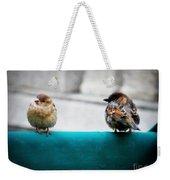 House Sparrows Weekender Tote Bag