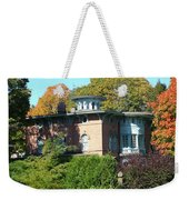 House Surrounded By Autumn Weekender Tote Bag