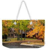 House Surrounded With Colors Weekender Tote Bag