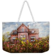 House - Victorian - Summer Cottage  Weekender Tote Bag